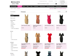 Beales department stores