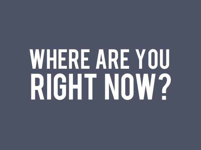 Where are you right now?  Sparkstone Multichannel retail software