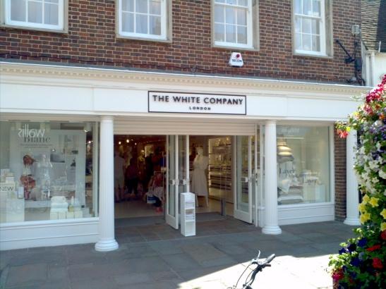 The White Company - Chichester store