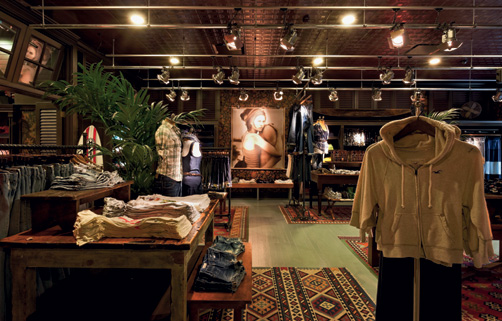 Is this the best looking shop in britain vote now Hollister design
