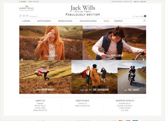 Jack Wills UK website