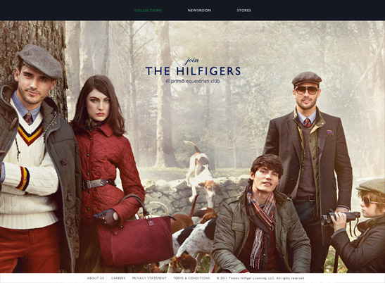 Tommy Hilfiger US website